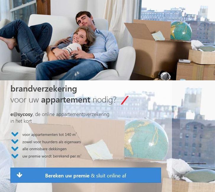 Bereken uw premie voor uw appartementsverzekering